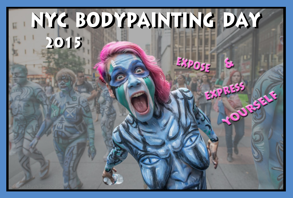 The Artists of NYC Bodypainting Day 2015 | Bodypainting Day