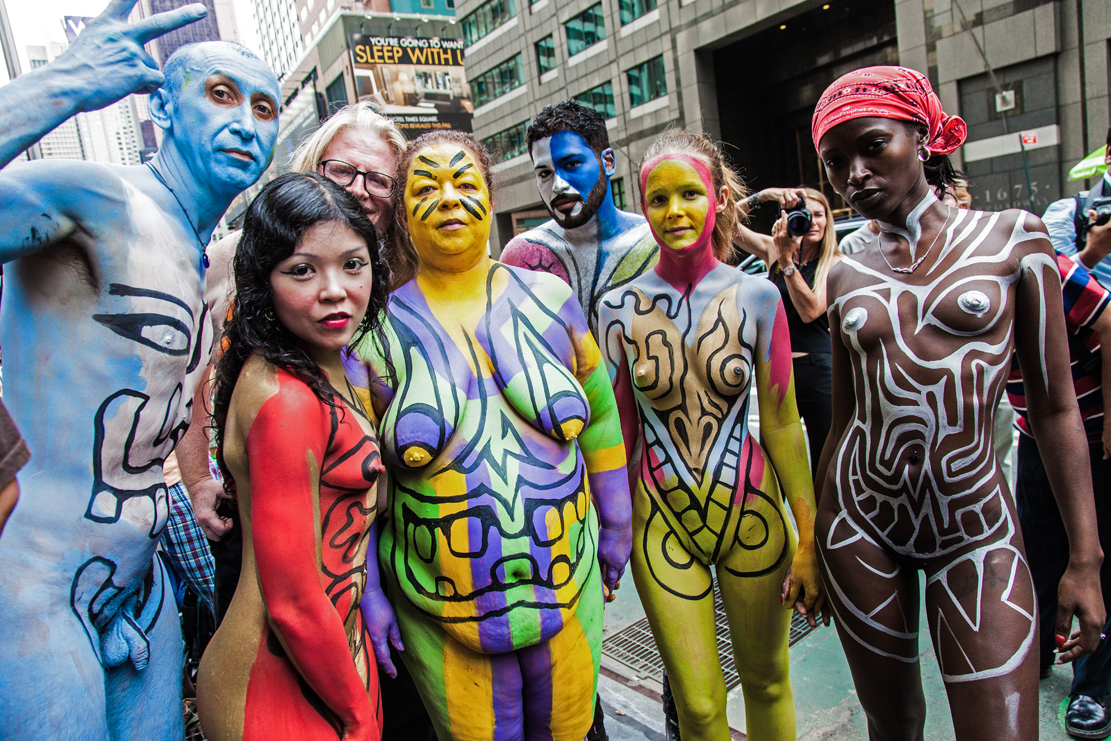 San Franciscos Nude Body Painting Day